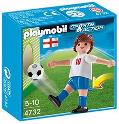 PLAYMOBIL England Soccer Player Toy *** Continue to the product at the image link.Note:It is affiliate link to Amazon.
