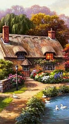 Duck Path Cottage ~ c.c.c~ Sung Kim