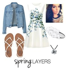 """""""Spring is near"""" by urobinson on Polyvore featuring ERIN Erin Fetherston, Billabong, Full Tilt, Bling Jewelry, cutecardigan and springlayers"""