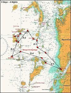 MerguiArchipelago-Map-5Days-4Nights