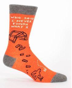 Adult Shoe Size 8-13 Black Good Luck Sock Mens Space Shuttle Launch Socks