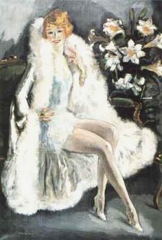 Portrait of Lili Damita, the Actress (1925), by Dutch Painter Kees van Dongen (1877 - 1968) http://www.flickr.com/photos/centralasian/5382578406/