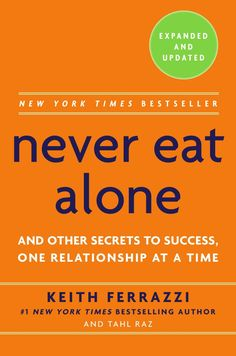 "A book for socializing Luddites, ""Never Eat Alone"" is not only a treatise for a networking mindset change, it's also packed with tangible steps and suggestions in going about it in an authentic way."