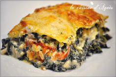 lasagnes aux épinards pignons et feta 3