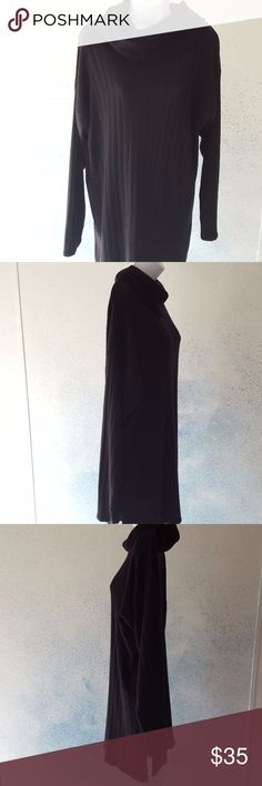 Jacque and Koko together ribbed cowl neck sweater Jacque and Koko together chunky ribbed cowl neck sweater black size 18/20  good condition no rips no stains   #jacqueandkokotogether #chunky #ribbed #cowlneck #sweater Jacque and Koko together Sweaters Cowl & Turtlenecks