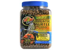 Natural Aquatic Turtle Food - Growth Formula from Petphabet!