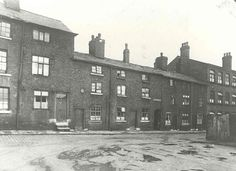 Adlington Square on Chestergate in 1935 before the clearances were performed. According to Stockport ghost stories, one elderly lady refused to leave her house and was dragged out and she vowed to always haunt the spot where her house stood (believed to be near The Plaza) and some people claim to have seen her ghost.