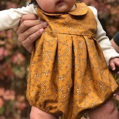 Child Romper Sample PDF Stitching Sample On the spot obtain Peter Pan Collar Baby Dress Patterns, Baby Clothes Patterns, Sewing Patterns Girls, Clothing Patterns, Baby Outfits, Kids Outfits, Sewing Baby Clothes, Diy Clothes, Toddler Fashion