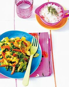 Rezept: Spitzkohl-Curry - [LIVING AT HOME]