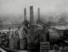 Battersea Power Station, pictured, was designed by British architect Sir Giles Gilbert Sco...
