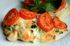 feta and herb stuffed chicken. | Frugal Foodie Family