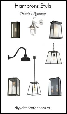 Country Chic Cottage Archives - Home Style Corner Outdoor Pendant Lighting, Kitchen Pendant Lighting, Porch Lighting, Lighting Ideas, Pendant Lights, Lighting Concepts, Hallway Lighting, Die Hamptons, Hamptons Style Decor