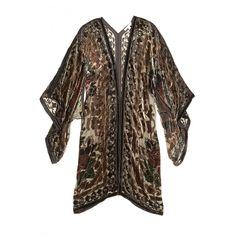 Menavi Velvet Burnout Kimono    Calypso St. Barth