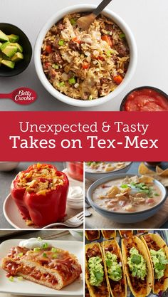 Take Tex-Mex to a new level with these 20 recipes perfect for turning up the flavor on taco night.