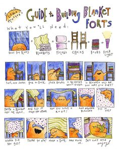 1000 images about year of the blanket fort on pinterest for How to build a house step by step instructions
