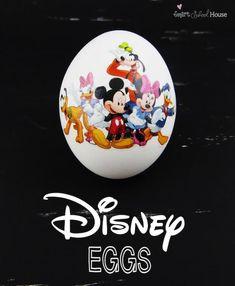 Disney vejce   Velikonoční vajíčko zdobení nápady, které může někdo udělat DIY projekty