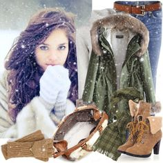 """""""Let It Snow"""" by jacque-reid ❤ liked on Polyvore"""