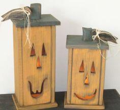 lighted pumpkin box