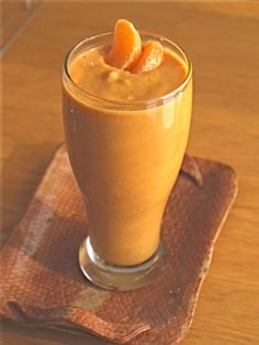 Sweet and Simple Sweet Potato Smoothie with oranges, oats, and seeds feels like a real meal. Use any unsweetened non-dairy milk you like here.