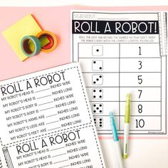 Robot Leg, I Robot, Second Grade Science, Group Work, Construction Paper, Natural Resources, Interactive Notebooks, Science Activities, Fun Learning
