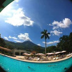 Relax en la piscina.