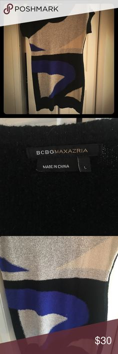 BcBG maxazria Dress GUC. Beautiful dress. Great with tights and boots or heels. Dresses