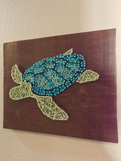 Sea Turtle String Art Ocean Life String Art | Etsy