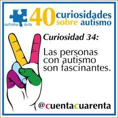 Las personas con autismo son fascinantes