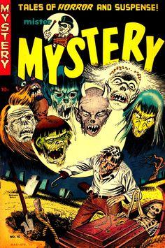 Mister Mystery (No.10, April 1953)Cover Art by Bernard Baily