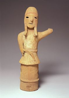 Japanese Haniwa Figure of a Young Man, late 5th-6th century, Peabody Essex Museum, Massachusetts