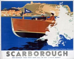 Scarborough - 1930 LNER Poster