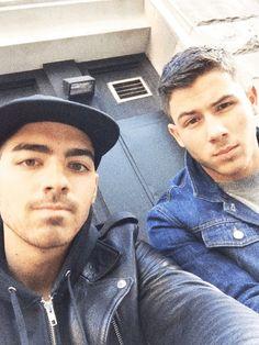 Joe Jonas and Nick Jonas.