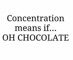 OH CHOCOLATE