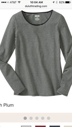 a82b4ed1178 The No-Yank Long Sleeve Scoop Neck T Shirt combines organic cotton with  stretch to create a shirt that stays put. Quit tusslin  with your tee and  go yank ...