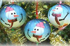 Turn a Photo into a Christmas Ornament