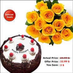 Special Deals on Cakes & Flowers