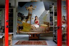 Bo Bartlett's Studio Ben Long, American Realism, Bo Bartlett, Andrew Wyeth, City Life, Art Studios, Unity, Photo Art, Cool Art