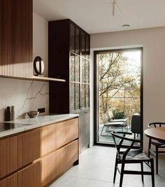 Kitchen Room Design, Kitchen Interior, Kitchen Dinning, Modern Kitchen Design, Home Decor Kitchen, Interior Design Inspiration, Home Interior Design, Interior Styling, Modern Interior