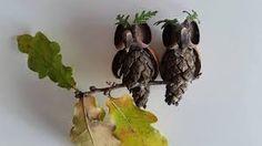 Znalezione obrazy dla zapytania sowa z liści