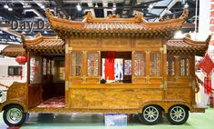 A wonderful caravan for Chinese New Year! xxx #ChineseNewYear #ChineseNewYear2018 #Caravan