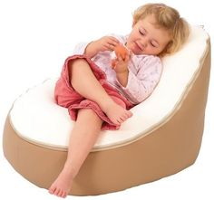 Baby beanbag seat for babies