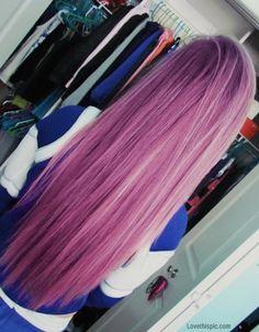 long purple hair girly hair colorful hair purple hair dyed hair straight hair