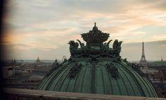 Le ciel au-dessous de Paris, du Palais Garnier