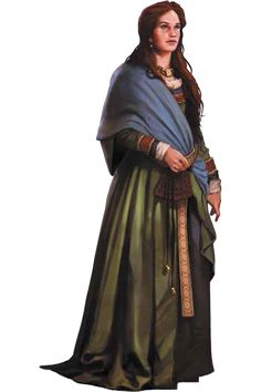 7th Sea 2e Character: Woman from Inismore (credits to John Wick Presents)