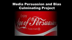 Students will create an advertising campaign that uses persuasive techniques and their knowledge of logical fallacies to facilitate the content. This assignment also incorporates technology.