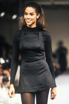 Stephanie Roberts at Azzedine Alaia F/W (1990)
