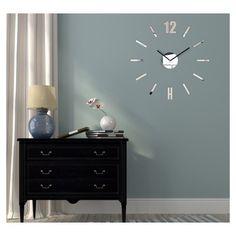 Designové nalepovací hodiny zrcadlové - dumdekorace.cz Diy Clock, Cladding, 3d, Design, Home Decor, Decoration Home, Room Decor, Home Interior Design