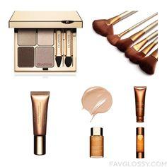 Beauty Wishlist Featuring Clarins Eyeshadow Toiletry Kit Clarins Eyeshadow And Clarins From May 2016 #beauty #makeup