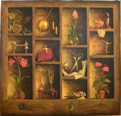 Vladimir Kush....a living curiosity cabinet