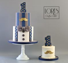 Little Mr. by Lori Mahoney (Lori's Custom Cakes)